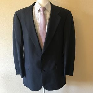 Brooks Brothers brooksease charcoal blazer 42R